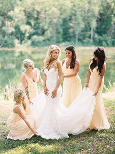 Wedding Photos With Your Bridesmaids 29