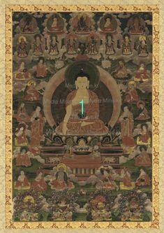 Buddhist Art Print(BUY 2 & GET 1 FREE!)-4-MM1709 #Handmade #Asian