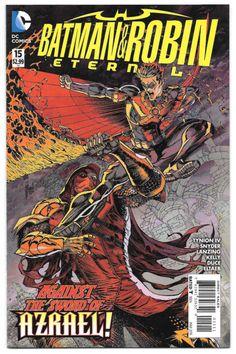 Batman & Robin Eternal #15 Against the Sword of Azrael DC Comics Tynion & Snyder