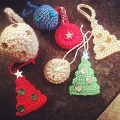 Crochet Christmas Decorations by MrsCraftyB