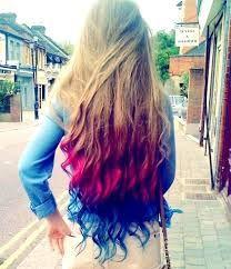 cabelo azul degrade - Pesquisa Google