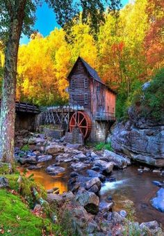 Mill in Autumn