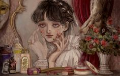 Arte Horror, Horror Art, Pretty Art, Cute Art, Arte Grunge, Arte Obscura, Funky Art, Image Manga, Dark Fantasy Art