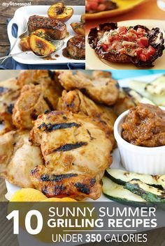 10 Sunny Summer Grilling Recipes Under 350 Calories