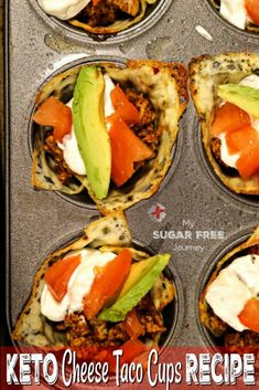 Low Carb Breakfast Recipes – The Keto Diet Recipe Cafe Paleo Recipes, Low Carb Recipes, Grape Recipes, Chard Recipes, Paleo Snack, Taco Cup, Cheese Tacos, Good Food, Yummy Food