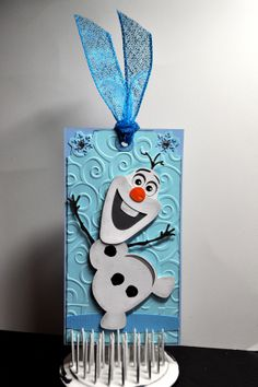 Olaf bookmark: .svg cut file from ppbndesigns.com