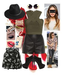 """Going to the mall with Harry"" by britishgirl98 ❤ liked on Polyvore featuring Balenciaga, Jonathan Simkhai, Giuseppe Zanotti, BeckSöndergaard, River Island, Amorium, Fiebiger, Marc, women's clothing and women"