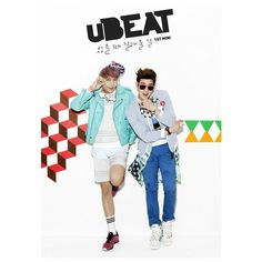 uBEAT, Sub-Unit do grupo U-KISS revela imagens teasers para seu... ❤ liked on Polyvore featuring kpop and photo