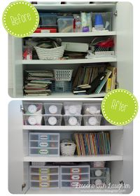 Lessons with Laughter: Storage Organization {Part 2}