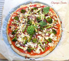 Najlepsze bezglutenowe ciasto na pizzę Gluten Free Pizza, Gluten Free Recipes, Pizza Tarts, Light Recipes, Vegetable Pizza, Free Food, Clean Eating, Paleo, Food And Drink