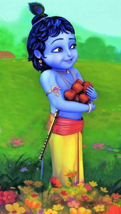 Cute Bal Radhey Krishna 3d Hd Desktop Wallpaper Religious