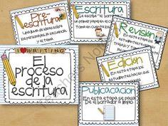 El Proceso de la Escritura from Building Bridges on TeachersNotebook.com (6 pages)