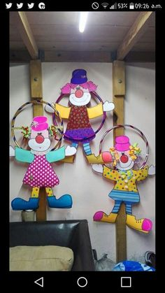 Circus Crafts, Carnival Crafts, Carnival Themed Party, Carnival Birthday Parties, Carnival Themes, Circus Birthday, Circus Party, Diy And Crafts, Crafts For Kids