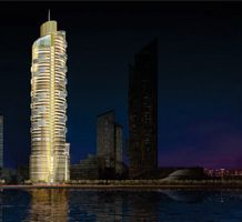 Ekat City, Ekaterinburg, Russia. The scheme includes three towers that are 80, 55 and 43 storeys tall | Arup