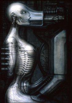 Hans Rüdi Giger: Biomechanoid II