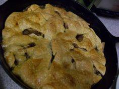 Apple Skillet Pie