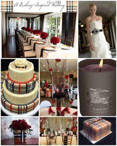 ~ Living a Beautiful Life ~ Burberry wedding theme 1 Brown Wedding Themes, Wedding Ideas, Blue Colour Palette, Color Palettes, Floral Wedding, Wedding Colors, Burberry Pattern, Cold Feet, Fashion Themes