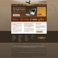 August 2011: Ridgeway & Conger, web design by iva
