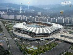 서울월드컵경기장 (Seoul Worldcup Stadium) in 서울특별시