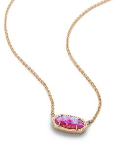 Whether layered with a statement necklace or worn on its own, the classic Elisa in opal is the accessory that will soon be your favorite go-to. Hanging Necklaces, Jewelry Necklaces, Opal Jewelry, Girls Necklaces, Jewelry Box, Jewelry Accessories, Jewelery, Chain Jewelry, Jewelry Gifts