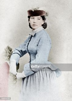 Vintage 19th Century Photo Of The French Courtesan Known As Cora Pearl Colorized Perhaps