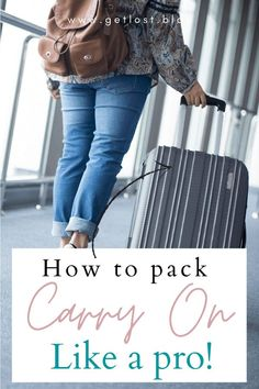 Wondering how to pack a carry on bag? In this guide we've provided the ultimate carry on packing list. It includes all your travel essentials as well as flying tips and packing hacks! Whether you're bringing a suitcase or backpack, you'll be sure to have all of your airplane essentials in your luggage. Click the pin for the full checklist of flight essentials! Packing Tips | Long Flights | What To Pack In Carry On | Carry On Bag Essentials | Packing Tips For Travel | Packing Tips For… Carry On Bag Essentials, Airplane Essentials, Carry On Packing, Packing Tips For Vacation, Road Trip Packing, Suitcase Packing, Travel Packing, Travel Essentials, Packing Hacks