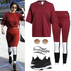 Find out where your favorite celebrities buy their clothes and how you can get their looks for less. Selena Gomez Shoes, Selena Gomez Outfits, Selena Gomez Style, Celebrity Outfits, Celebrity Style, Celebrity Piercings, Puma Outfit, Two Toned Jeans, Taylor Swift Style