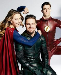 Flash, Arrow, Supergirl