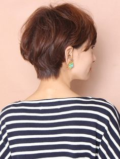 大人のエアリーマッシュショート Very Short Hair, Short Hair Cuts, Short Hair Styles, Short Bob Hairstyles, Cool Hairstyles, Haircuts, Hair Trim, Asian Hair, Relaxed Hair