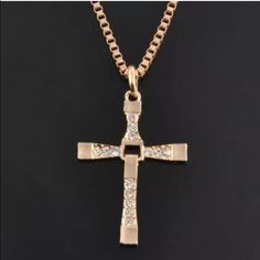 Cross necklace for men - new Brand new about 26 inches long Accessories