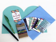 Compliment Cards by AngelineKayDesigns on Etsy https://www.etsy.com/listing/264838697/compliment-cards