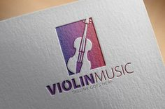 Check out Violin Music Logo by samedia on Creative Market