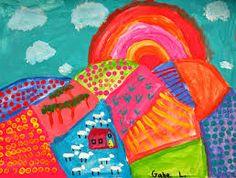 Image result for landscape painting for kids