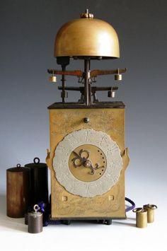 A Rare Double Foliot Japanese Striking Lantern Clock. circa 1780