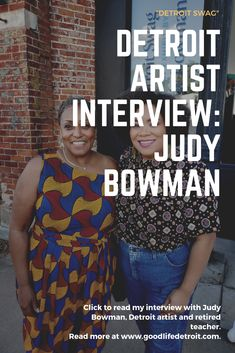 In this interview with Detroit artist Judy Bowman, she talks about her new art exhibition 'Detroit Swag' now on view at Playground Detroit. Women Lifestyle, Lifestyle Blog, Detroit Art, Swag, Job Employment, Trend News, Museum Of Contemporary Art, Trending Topics, Plus Size Fashion
