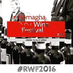 È l'appuntamento con il gusto più atteso della #romagna un intero fine settimana dedicato al #vino e al #cibo di qualità! 15-16 aprile #Cesena... Save the date!  #RWF2016 #wine #festival #browsingitaly #turismoer #igersfc #browsingitaly #enogastronomia #sommelier #pornfood #romagnawinefestival by emiliaromagnadabereedamangiare