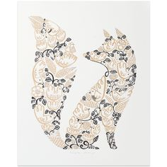 In the Forest print.  For door to future nursery?