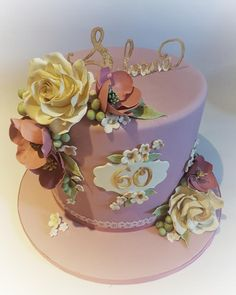 Delight in pink - Cake by Sabrina Di Clemente