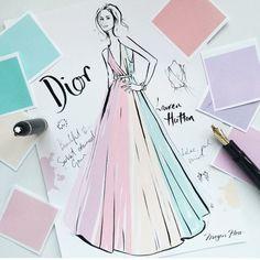 Megan Hess - Dior
