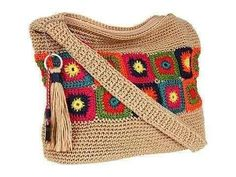 Letras e Artes da Lalá: Bolsas de crochê (fotos: pinterest - sem receitas)