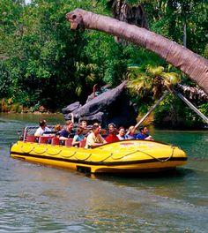 Jurassic Park River Adventure - Universal's Islands Of Adventure in Florida