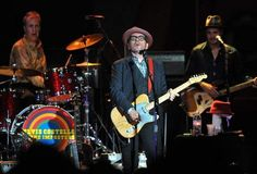From the recent Elvis Costello concert I saw. Not sure who took the picture.