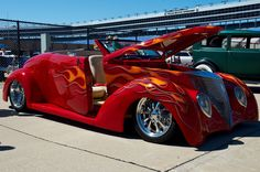 Good Guys Rod and Custom Car Show. Texas Motor Speedway. Fort Worth, Texas.