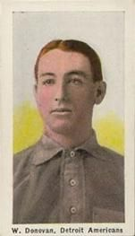 1910-11 Sporting Life M116 #70b Wild Bill Donovan Front