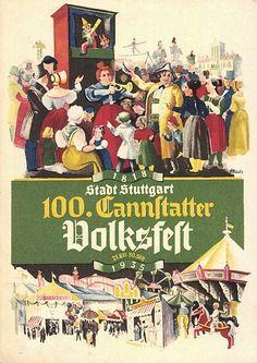 Cannstatter Volksfest 1935