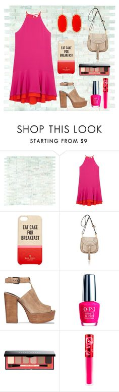 """""""Color Block"""" by e-m-i-l-y-71 ❤ liked on Polyvore featuring Diane Von Furstenberg, Kate Spade, Chloé, Rebecca Minkoff, OPI, Bobbi Brown Cosmetics, Lime Crime and Kendra Scott"""