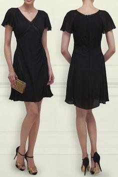 LK Bennett Karlina Silk Cap Sleeve Dress