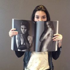 "Kendall & Kylie Jenner , TheLoveMagazine: ""@kendalljenner with her copy of..."