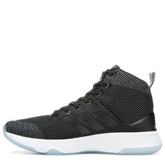 new concept 1006a a3e4a Adidas Mens Cloudfoam Executor Mid Top Basketball Shoes (Black White)