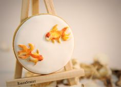 Chinese Painting Cookie - Goldfish